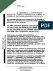 Consejo de Gobierno de La Comunidad en Aranjuez