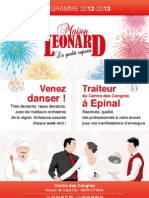 Catalogue 2012 / 2013 Maison Léonard