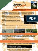 Poster de Actividades de la Asociación de Empresarios de Cerler