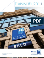 BRED BP Rapport Annuel 2011