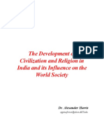 Development of Civilzation and Religion in India