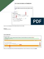 Creare una tabella con PhpMyAdmin