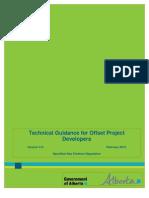 Alberta Technical Guidance