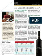 Vinícola Villarrobledo Boletín Nº 0 mayo 2012