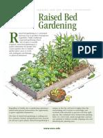 Raised Bed Gardening 1