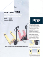 Hand Pallet Catalogue