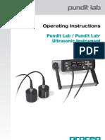 PunditLab Operating Instructions