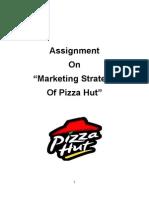 Marketing Strategy of Pizza Hut