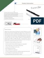MyNote Pen Datasheet