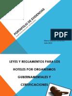 Leyes y Reglamentos Para Los Hoteles Por Organismos Gubernamentales y Certificaciones