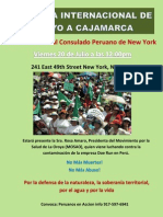 20 de Julio Jornada en New York