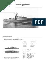 Klassen Und Einheiten Der Schnellbootflottille 1973