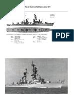 Klassen Und Einheiten Der Zerstörerflottille 1973