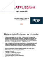 21 Meteorological Observations and Services - Ibrahim CAMALAN