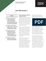 Datenblatt Lotus Webaccess 7
