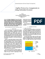 Implementing ZigBee Protocol as Assignments in Teaching Embedded Systems---IEEE2011