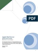 Setup Apple Mail Server