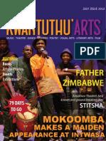 Kwanthunthu Arts Magazine July