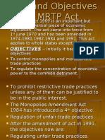 Presentation on Mrtp Act