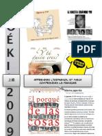 Boeki 2009 Lecons 1 a 6