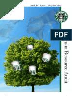 Starbucks Audit HR CLASS
