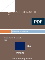 Mencari Isipadu ( 3 d)