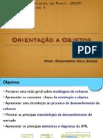 1 - Orientação a Objetos