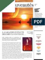 BoD Nouveautés Été 2012