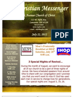 July 22 Newsletter