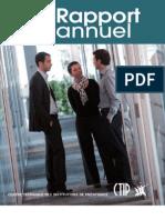 Rapport annuel 2011 du CTIP et des institutions de prévoyance