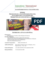 Future Generations Informe Eval Final Proyecto Nexos Fg 2009
