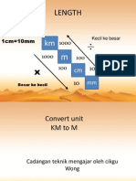 Convert Unit Km-mm