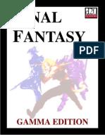 D20 Modern - Final Fantasy