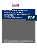Msh Informe Final Mcs Usaid_camris_2010