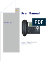 Zp302 Ip Phone User Manual_v1.1