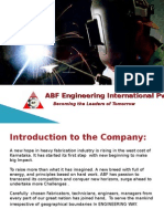 ABF ENGINEERING INTERNATIONAL PVT LTD
