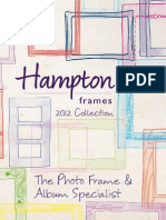 Hampton Frames Spring/Summer 2012 Catalogue