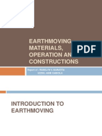 Earthmoving Materials