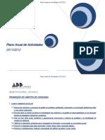 Plano Anual Actividades  outubro 2011-12 - Cópia