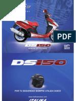 Italika Ds 150 2009 Manual