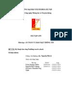 Báo cáo bài tập lớn An toàn bảo mật Padding Oracle Attack