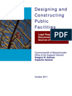 Designing and Constructing Public Facilities in Massachusetts