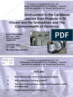 Sven Homscheid, Hydropower Development in the Caribbean - Lessons learnt from Projects in St. Vincent and the Grenadines and the Commonwealth of Dominica, 6-2010 Short