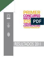 """Resultados Primer Concurso Nacional de Ensayos """"Universitarios Construyendo Transparencia"""""""