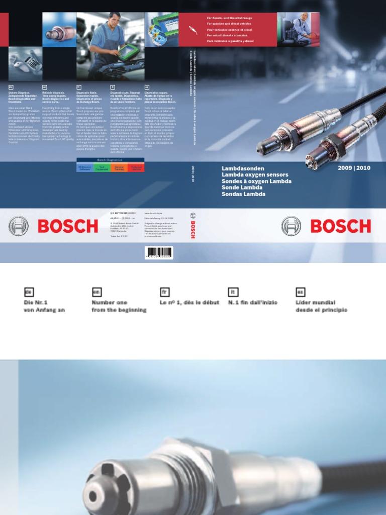 Bosch 0 258 006 185 Sonde Lambda