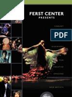 Ferst Center Presents 2012-13 Season Brochure
