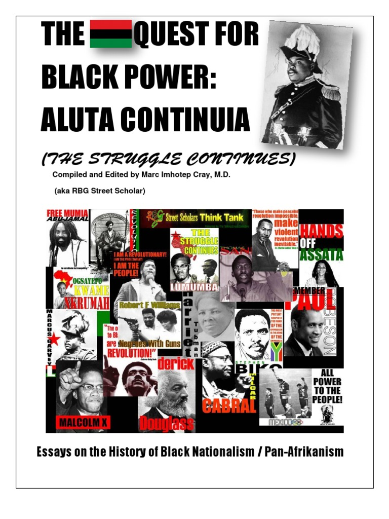 The RBG Quest for Black Power Reader Aluta Continua a