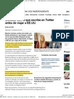 BBC Mundo - Noticias - Cuidado Con Lo Que Escribe en Twitter Ant