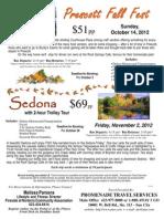 Prescott Fall Fest & Sedona Trolley Tour