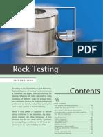 Rock Testing Guide
